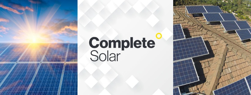 Complete Solar is a platform for enabling solar purchase, installation and service